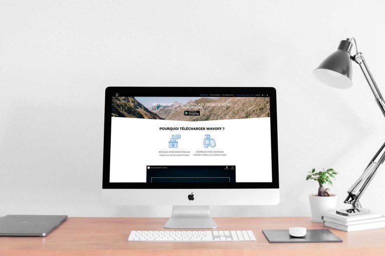 Site web application Wavoff